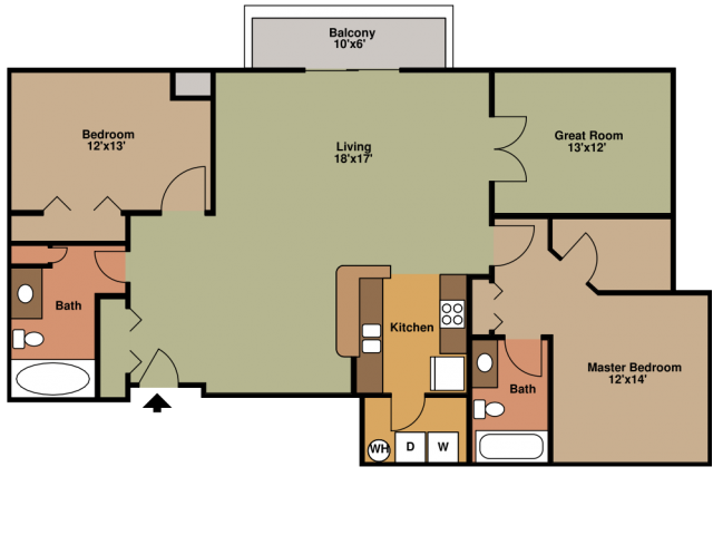 Floor Plan 3 | Eagles Landing