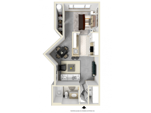 Floor Plan 7 | Tempe Metro