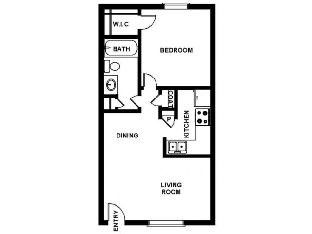 Floor Plan | Villages at Meyerland