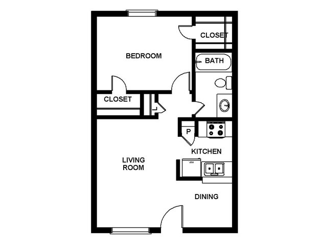 Floor Plan 2 | Villages at Meyerland