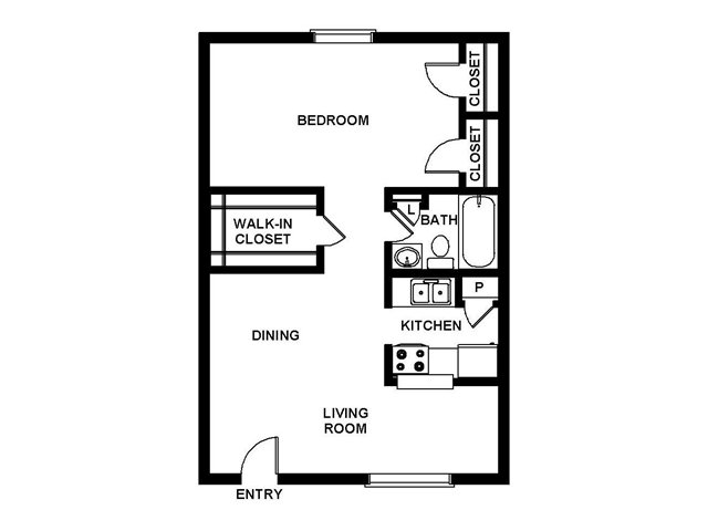 Floor Plan 4 | Villages at Meyerland
