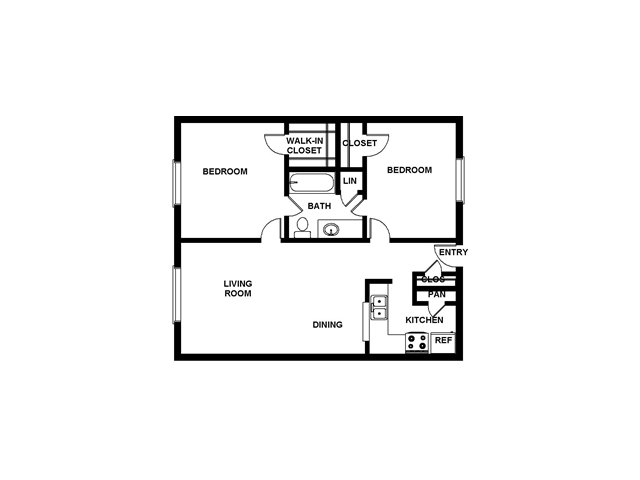 Floor Plan 11 | Villages at Meyerland