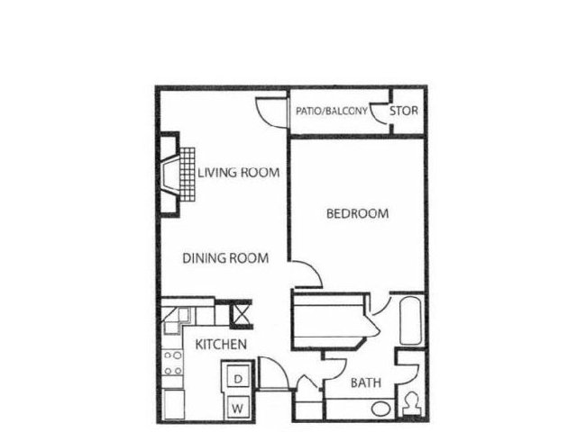 Floor Plan | Reserve at Windmill Lakes