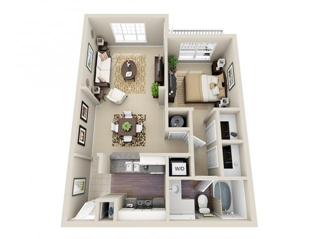 Floor Plan | Dunwoody Place Apartments 2