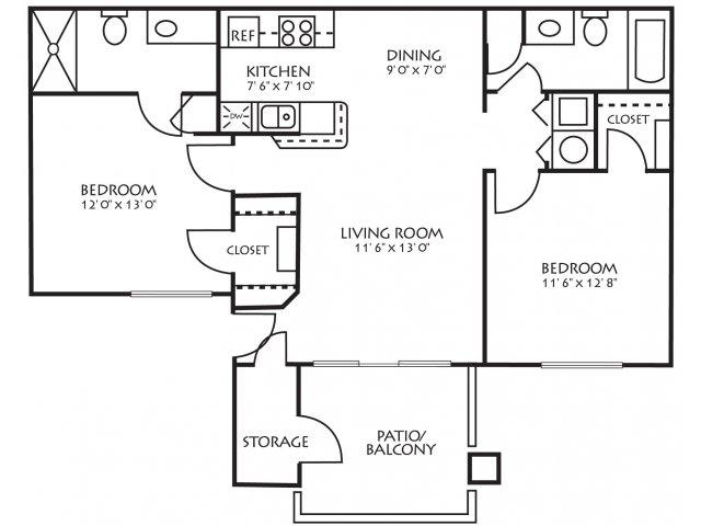 Floor Plan 3 | Palm Valley