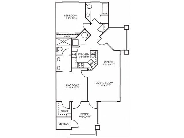 Floor Plan 4 | Palm Valley