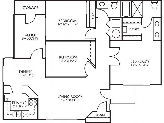 Floor Plan 5 | Palm Valley