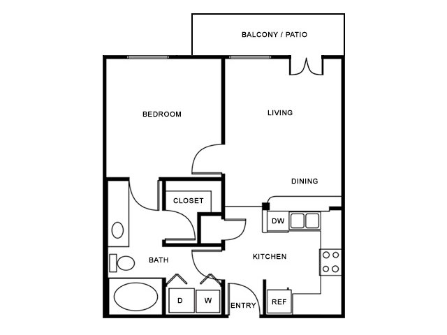 Floor Plan | The Saulet