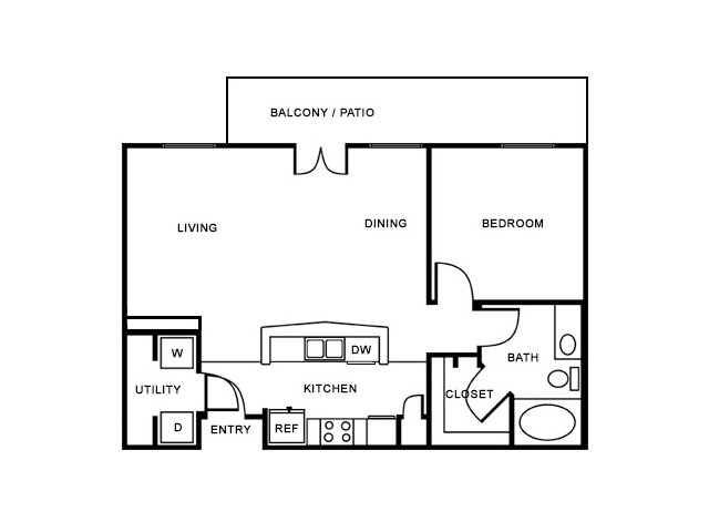 Floor Plan 3 | The Saulet