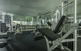 Fitness Center at The Saulet 2