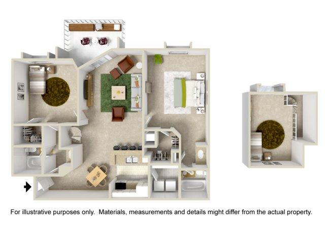 Floor Plan 7 | Apartment In Altamonte Springs FL | Lakeshore at Altamonte Springs
