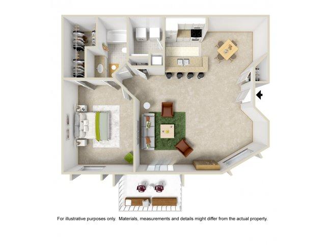 Floor Plan 3 | Apartments For Rent Altamonte Springs | Lakeshore at Altamonte Springs