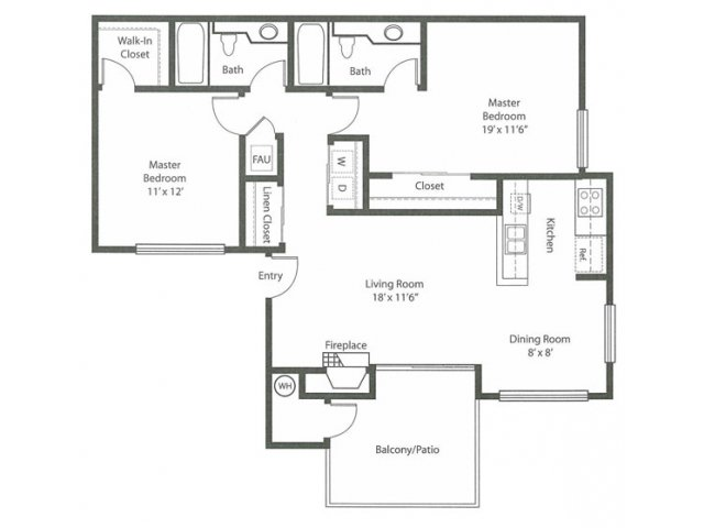Floor Plan 2 | Cypress Creek