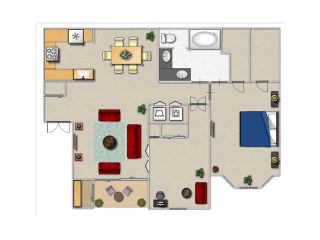 Floor Plan | The Inverness