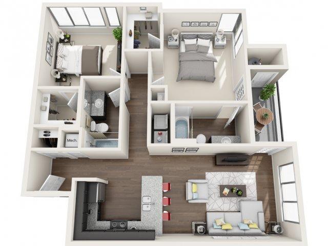 Floor Plan 3 | Park 28