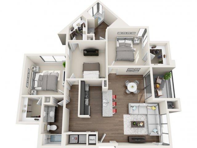 Floor Plan 4 | Park 28