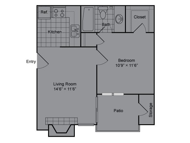 Floor Plan | The Madison