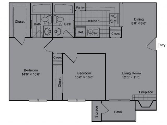 Floor Plan 3 | The Madison