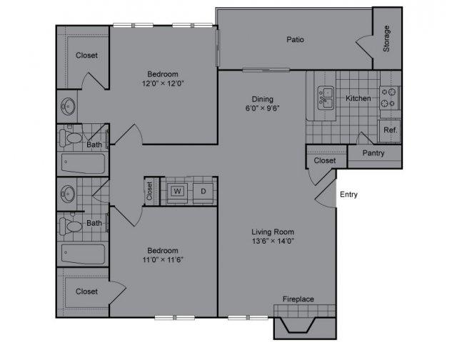 Floor Plan 4 | The Madison