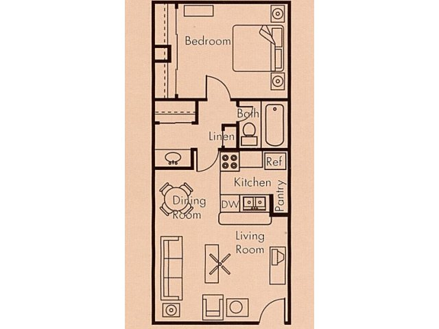 Floor Plan 3 | Biltmore on the Lake