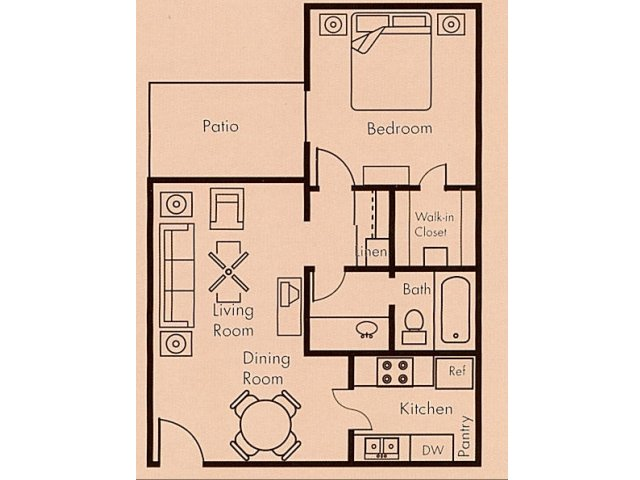 Floor Plan 4 | Biltmore on the Lake