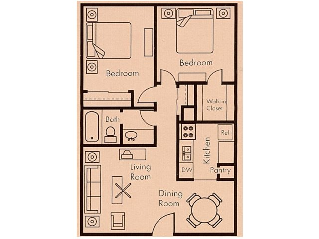 Floor Plan 5 | Biltmore on the Lake