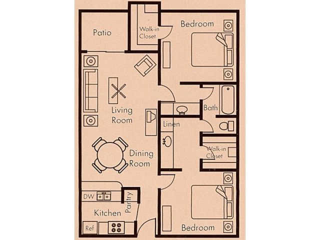 Floor Plan 6 | Biltmore on the Lake