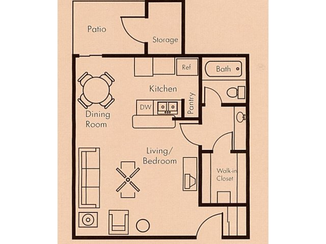 Floor Plan 2 | Biltmore on the Lake