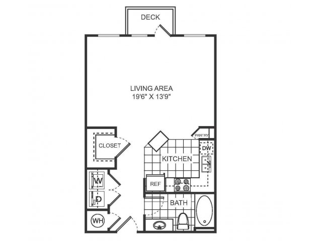 Studio Floor Plan | Sorelle
