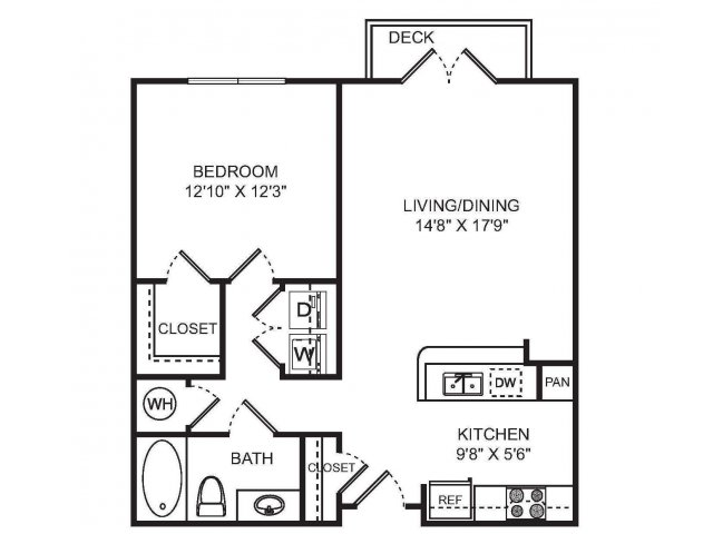1 Bedroom Apartments | Sorelle