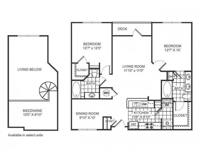 Floor Plan 5 | Sorelle
