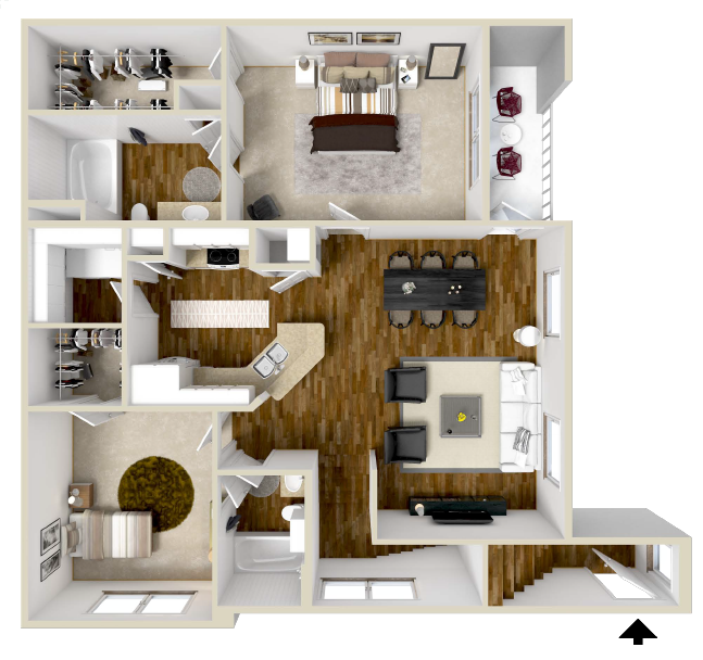 Floor Plan 3 | The Retreat