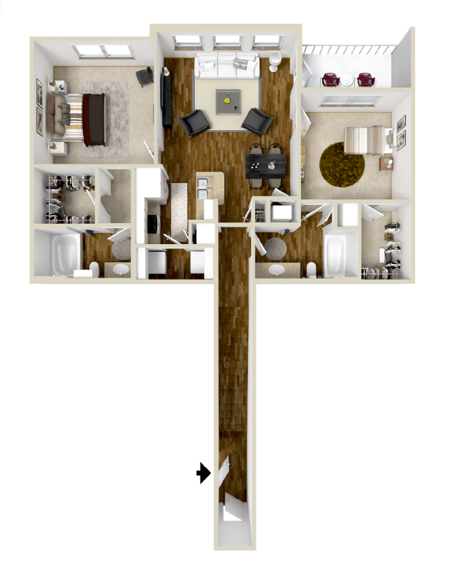 Floor Plan 4 | The Retreat