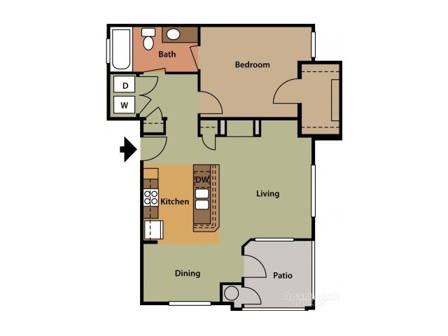 Floor Plan 3 | Tesoro Ranch