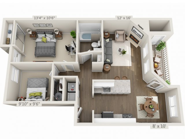 Floor Plan 2 | Heatherbrae Commons