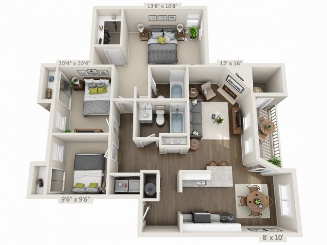 Floor Plan 4 | Heatherbrae Commons