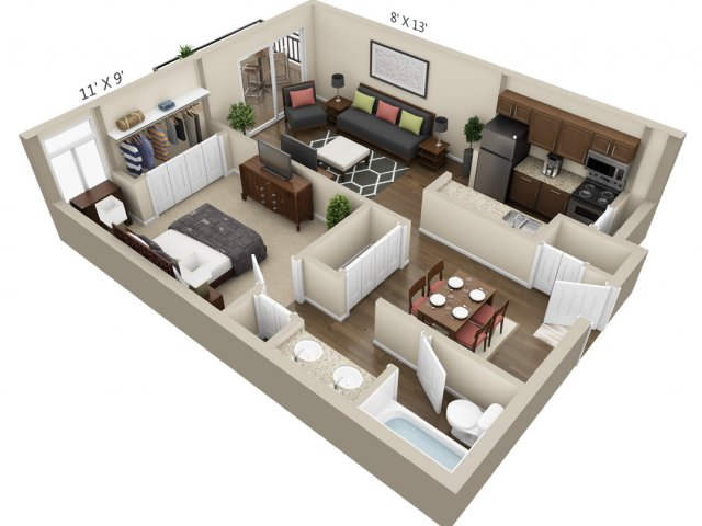 Floor Plan 2 | The Lex at Lowry