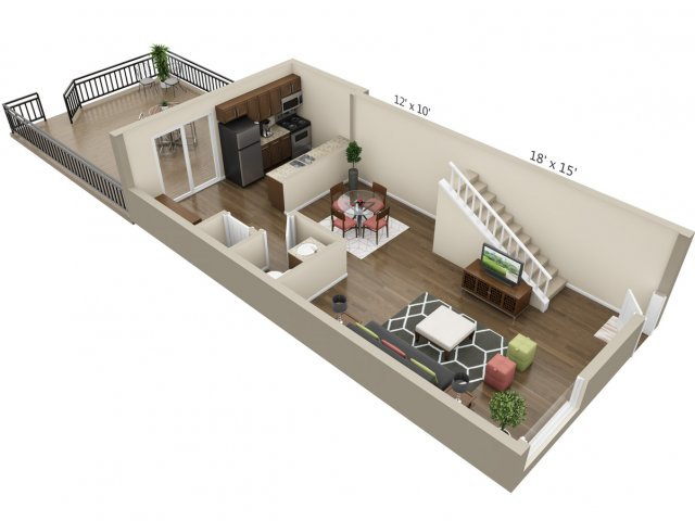 Floor Plan 16 | The Lex at Lowry