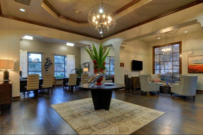 Elegant Community Club House | San Antonio Luxury Apartments | Sendera Landmark