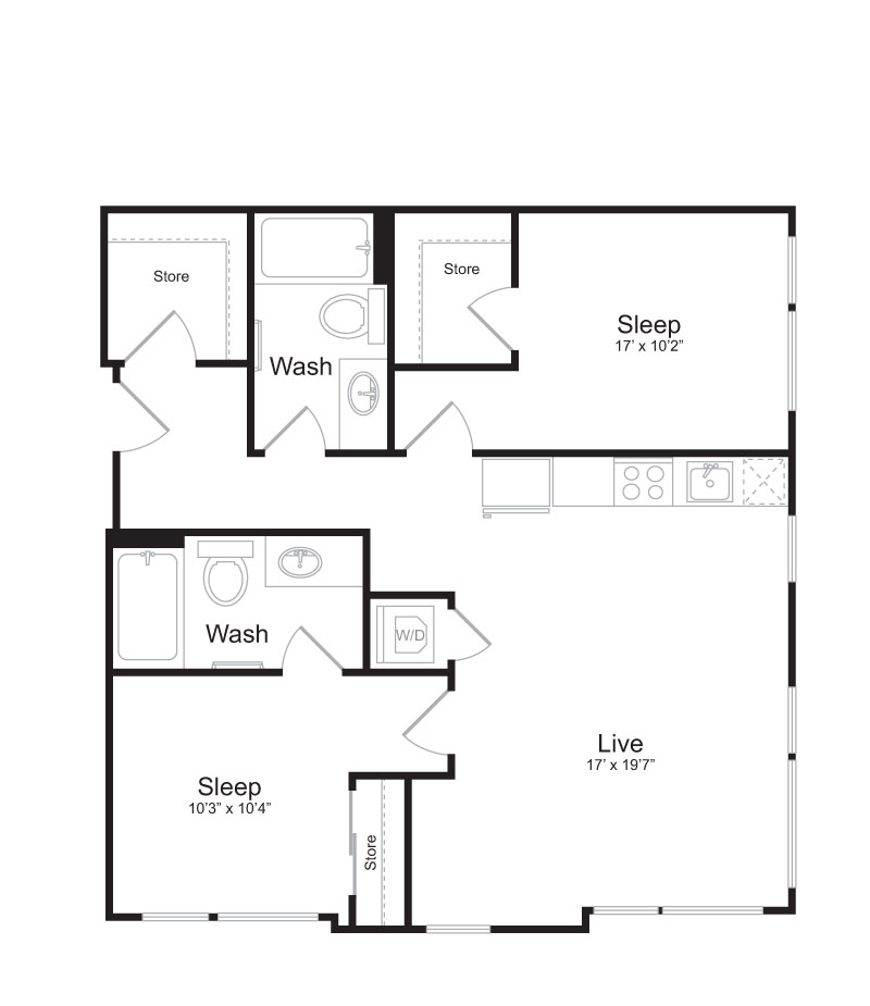 Floor Plan | Mark on 8th