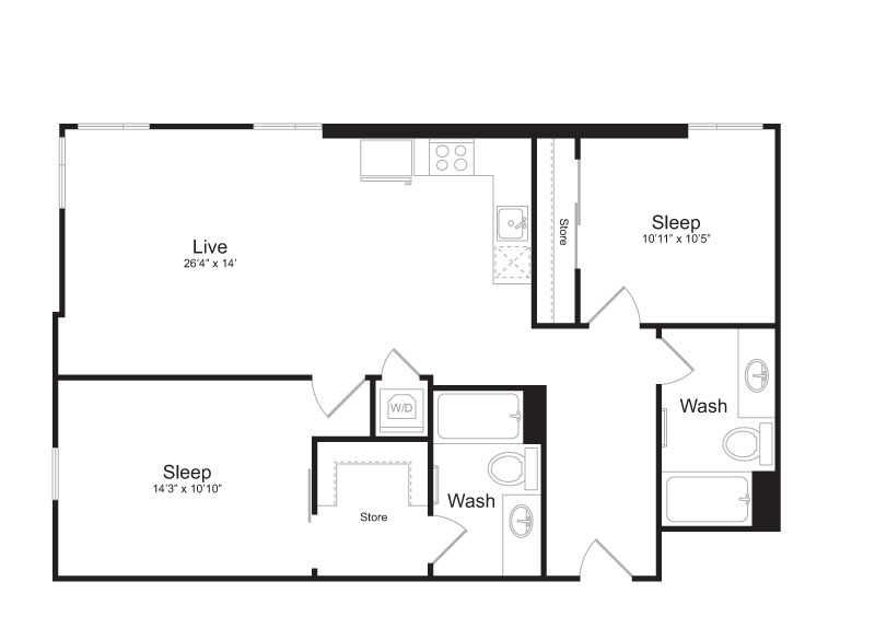Floor Plan 2 | Mark on 8th