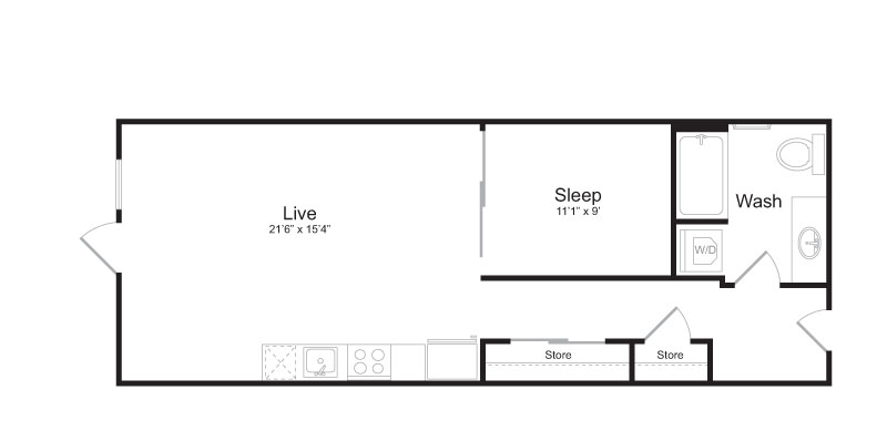 Floor Plan 5 | Mark on 8th