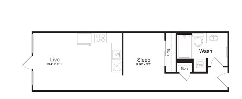 Floor Plan 6 | Mark on 8th