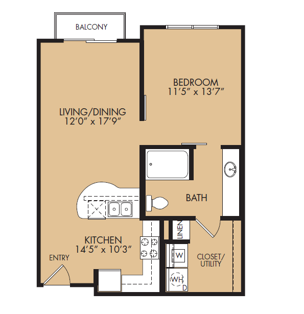 Floor Plan 2 | The Standard at Leander Station