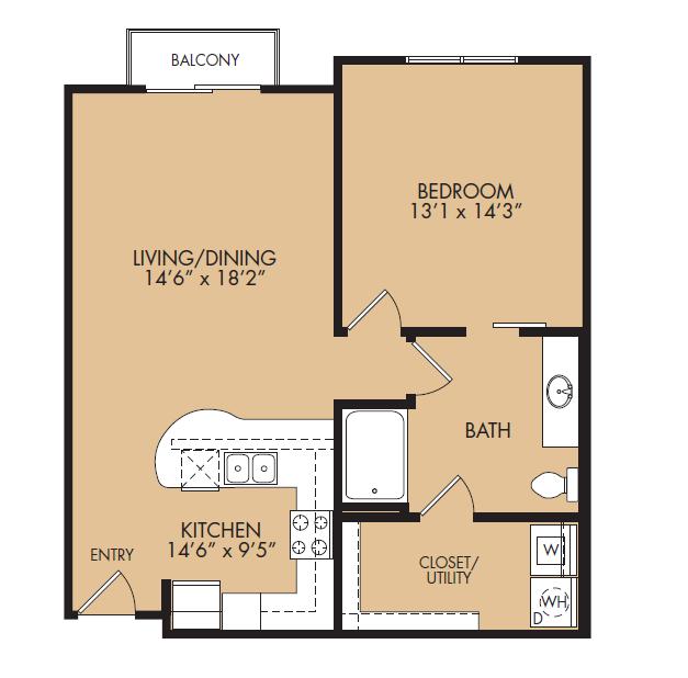 Floor Plan 5 | The Standard at Leander Station