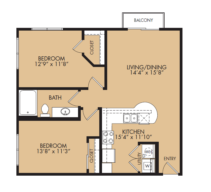 Floor Plan 6 | The Standard at Leander Station