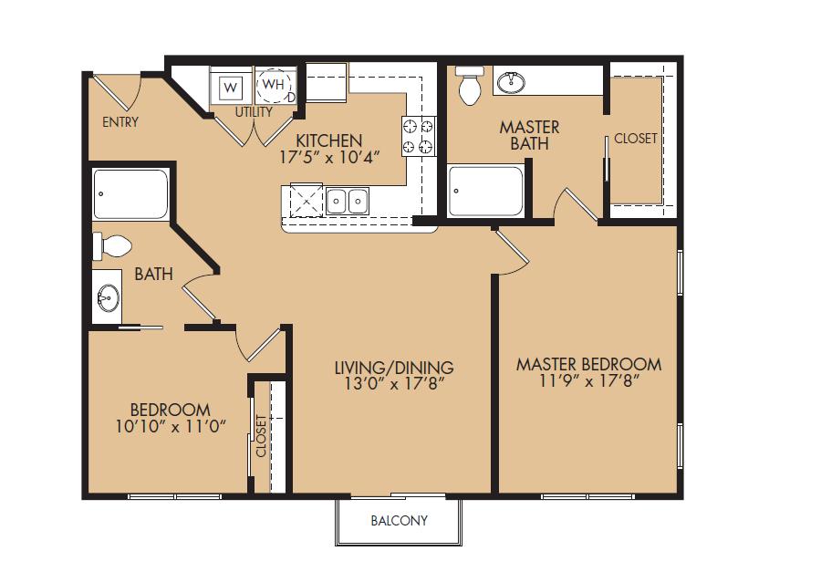 Floor Plan 10 | The Standard at Leander Station