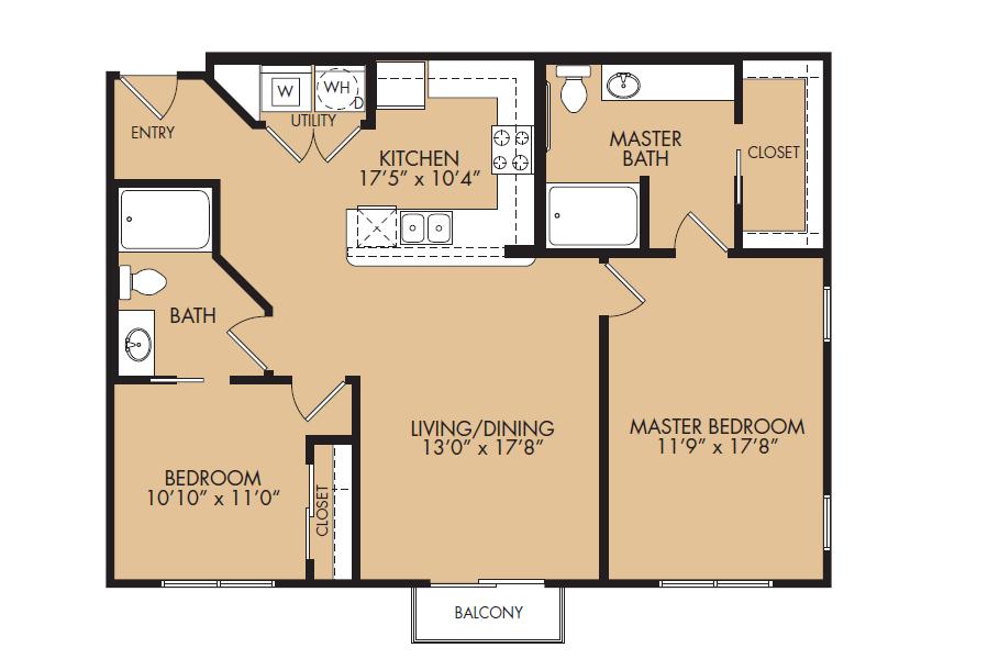 Floor Plan 11 | The Standard at Leander Station