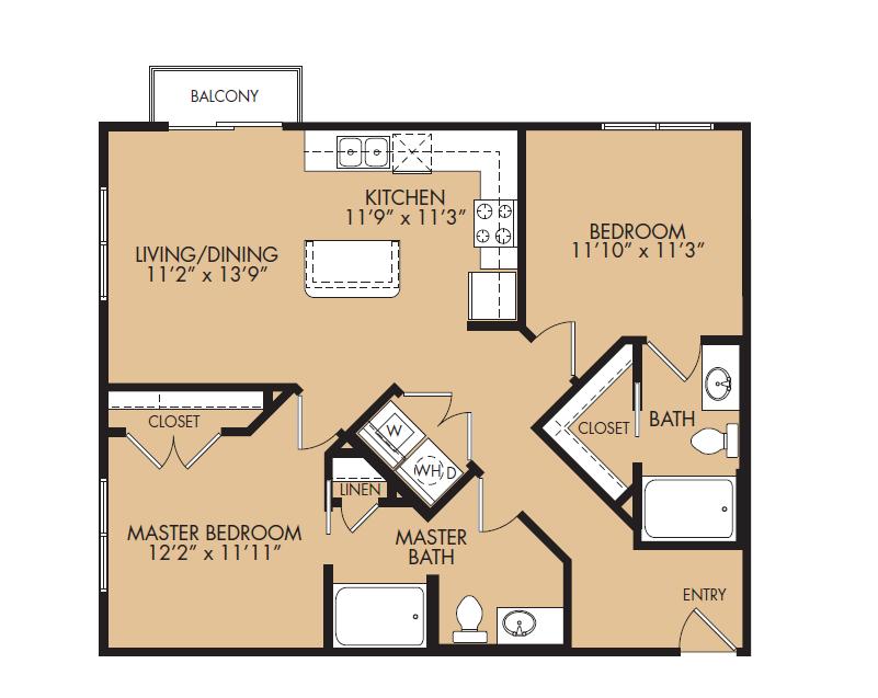 Floor Plan 13 | The Standard at Leander Station