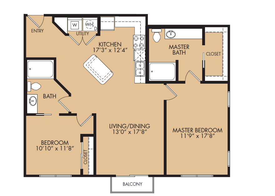 Floor Plan 12 | The Standard at Leander Station